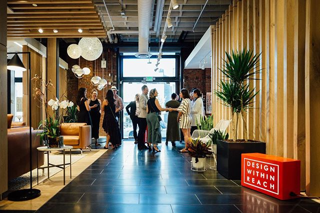 We are so excited about @designwithinreach opening their showroom + store in the Gulch. We loved playing a role in their grand opening event last weekend!  Welcome to the neighborhood! #BVApproved 📸: @mollymantlow