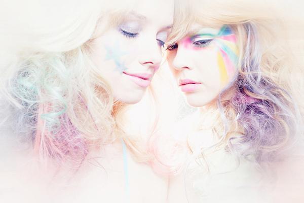 """She's A Rainbow"" via Behance"