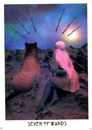 7 of Wands - The Starchild Tarot via HellaNamaste.jpg