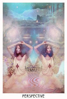 move into new space. - Astrologically, the Perspective card corresponds with Neptune, one the outer planets. Neptune is the lucid dreamer of our cosmos, full of fairies, Divine messages, dreams, mirages, & star-spangly moments of ecstasy. What are my options right now? Am I working towards Love or am I working to avoid something? What am I not seeing that's right in front of my face?