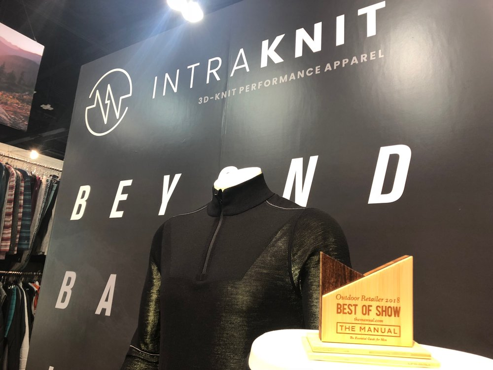 "Intraknit wins ""Best of Show"" from The Manual."