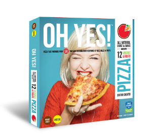 oh yes tm foods debuts new personal sized pizzas and chic new