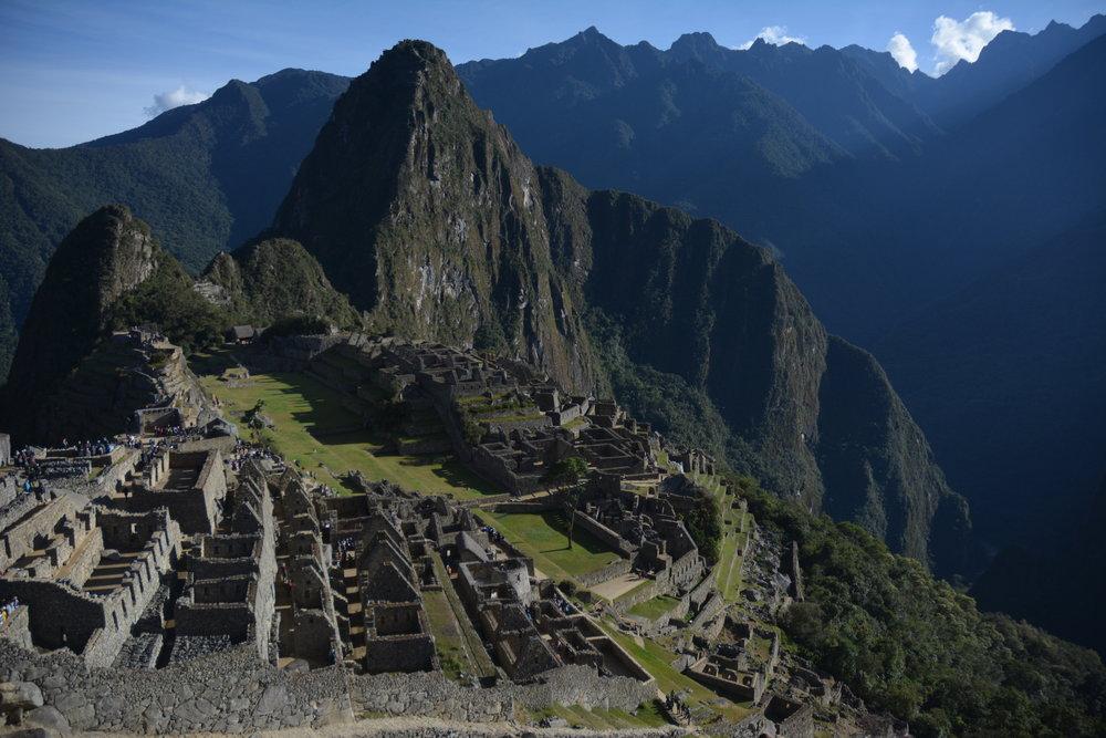 Machu Picchu, Peru 2017