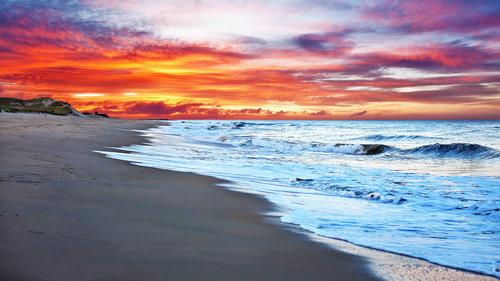 cape beach sunset creativeham
