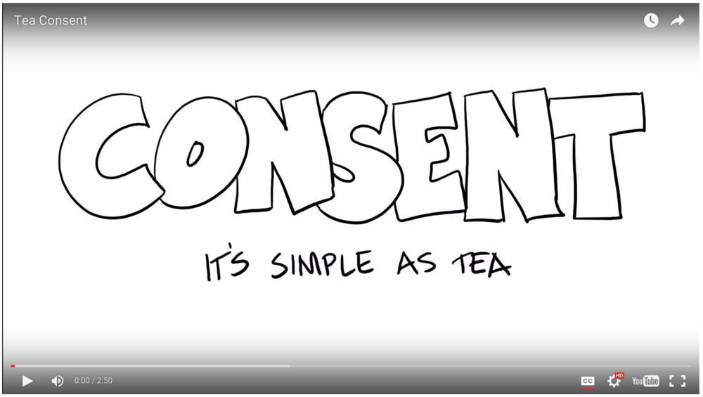 consent 101 voicing consent