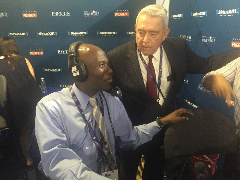 Dr. Ben Carson opens on the Armstrong Williams Show on Sirius XM