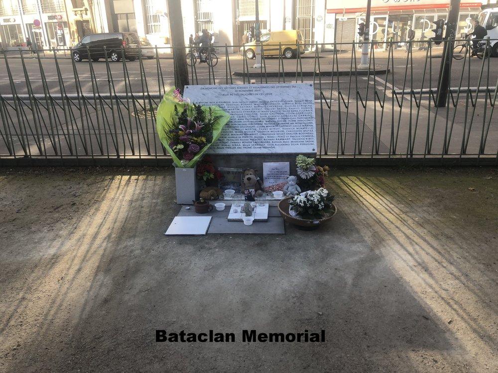 Bataclan Memorial