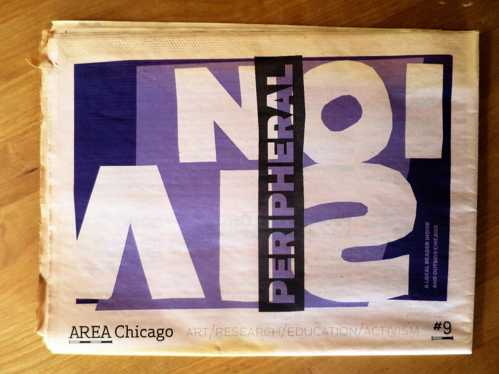 first published in   AREA Chicago   issue #9 , Fall 2009