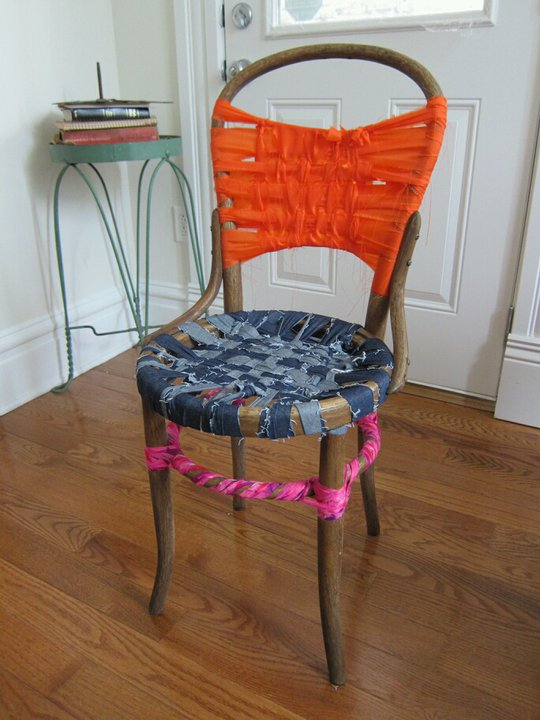 chair weave, 2011
