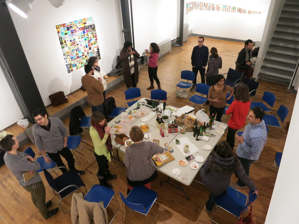 Potluck for Engaging Design, co-organized with Krisann Rehbein, Chicago Art Department,   Chicago 2013