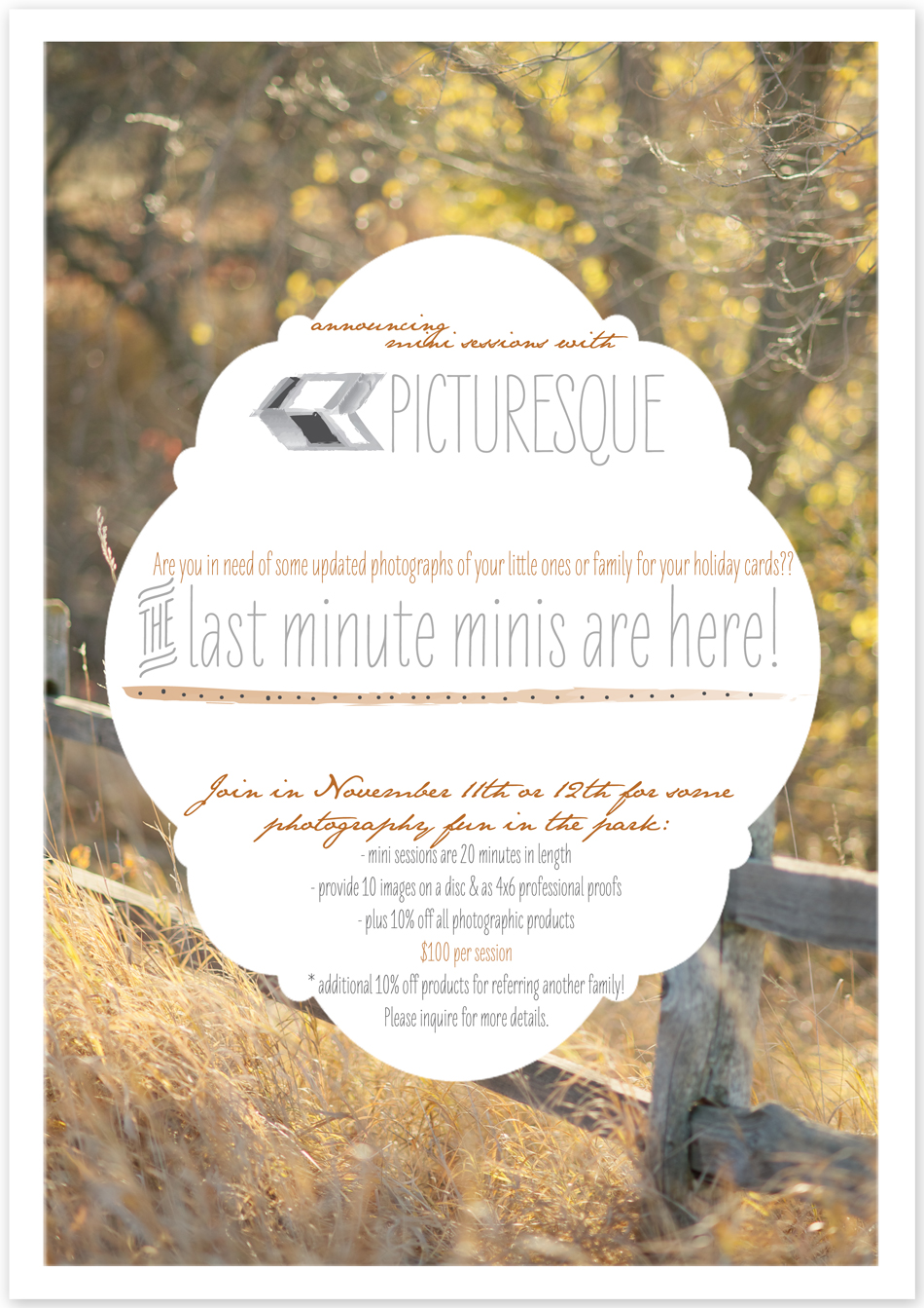 Sioux Falls photographer Lauren Neff of picturesque offering mini photo sessions