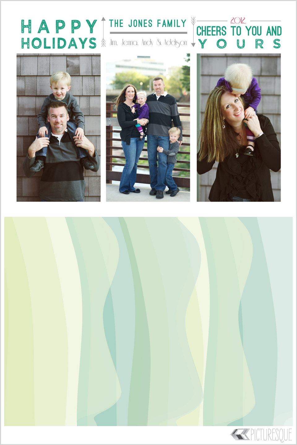 5x7 holiday cards by Picturesque