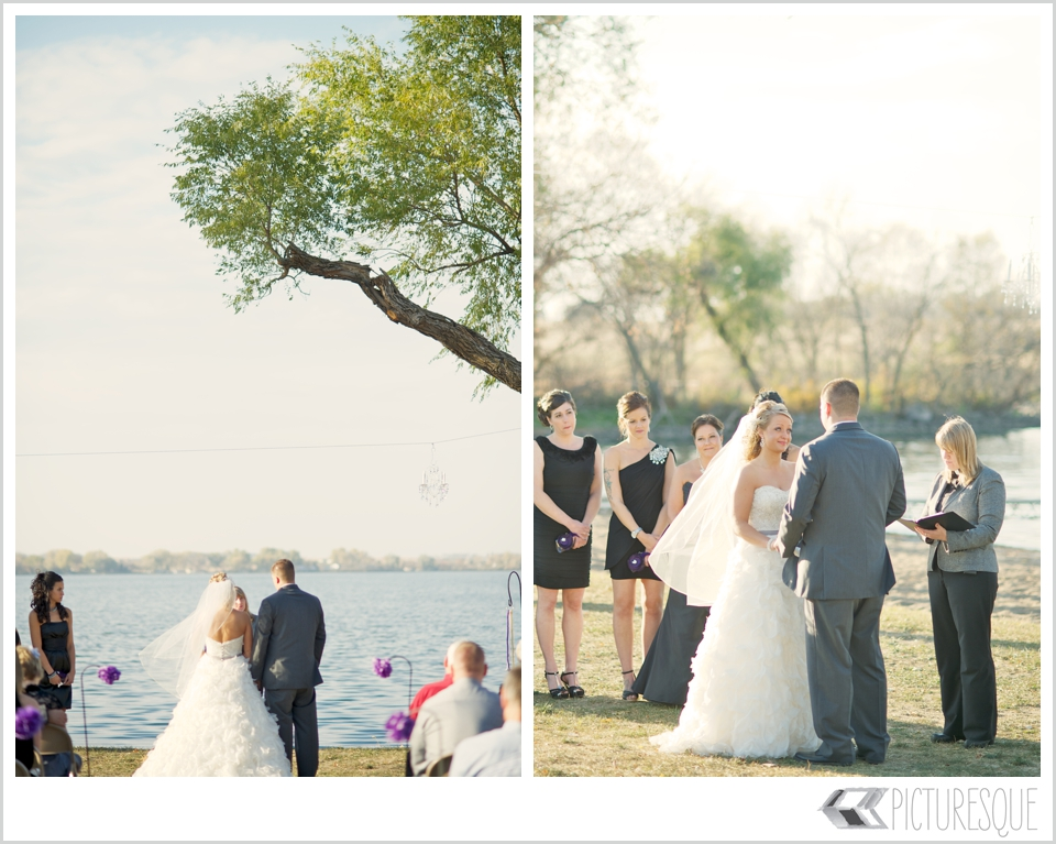 South Dakota wedding photographer Lauren Neff captures a rustic outdoor wedding