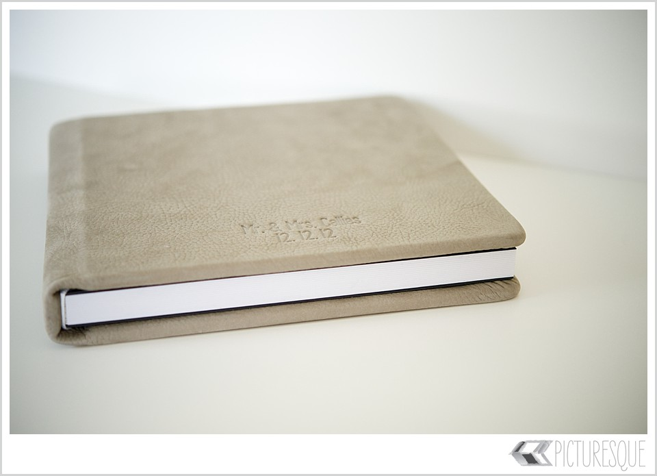 Picturesque photography custom wedding albums
