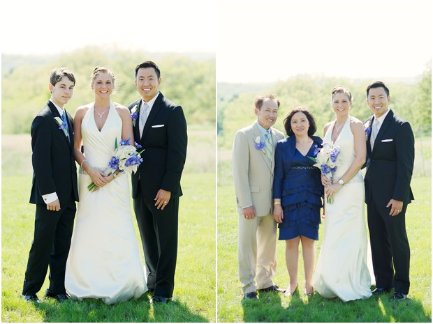 wedding day family portraits by Picturesque photography