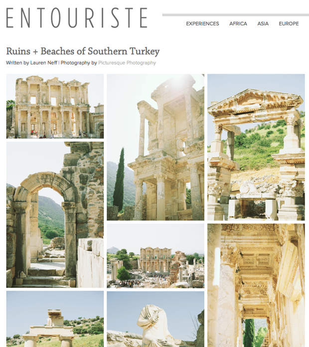 Picturesque travel photograph featured on Entouriste the ruins and beaches of southwest Turkey captured