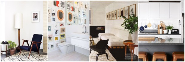 mid century make over inspiration