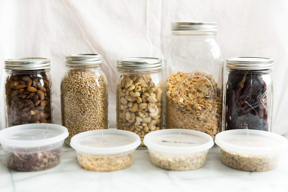 ways to grocery shop with no waste