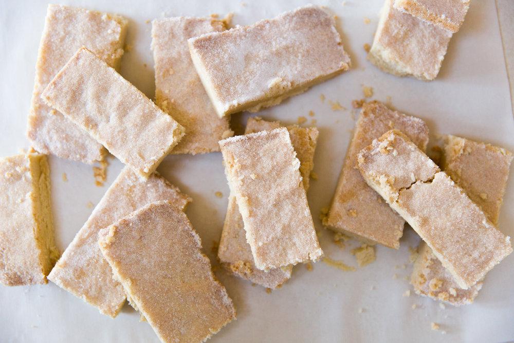 Tartine Shortbread Cookies