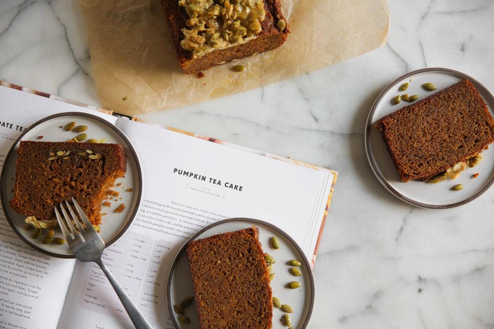 Fond Life Tartine Pumpkin Tea Cake