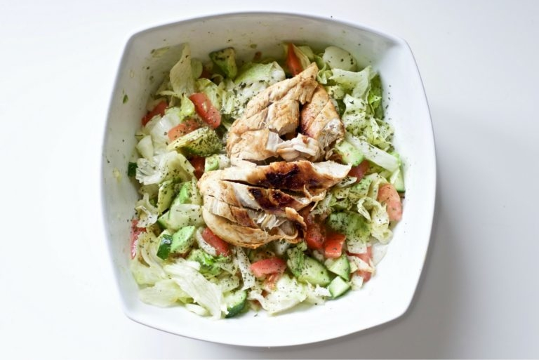 Blackened Chicken Salad - The epitome of fresh and easy.