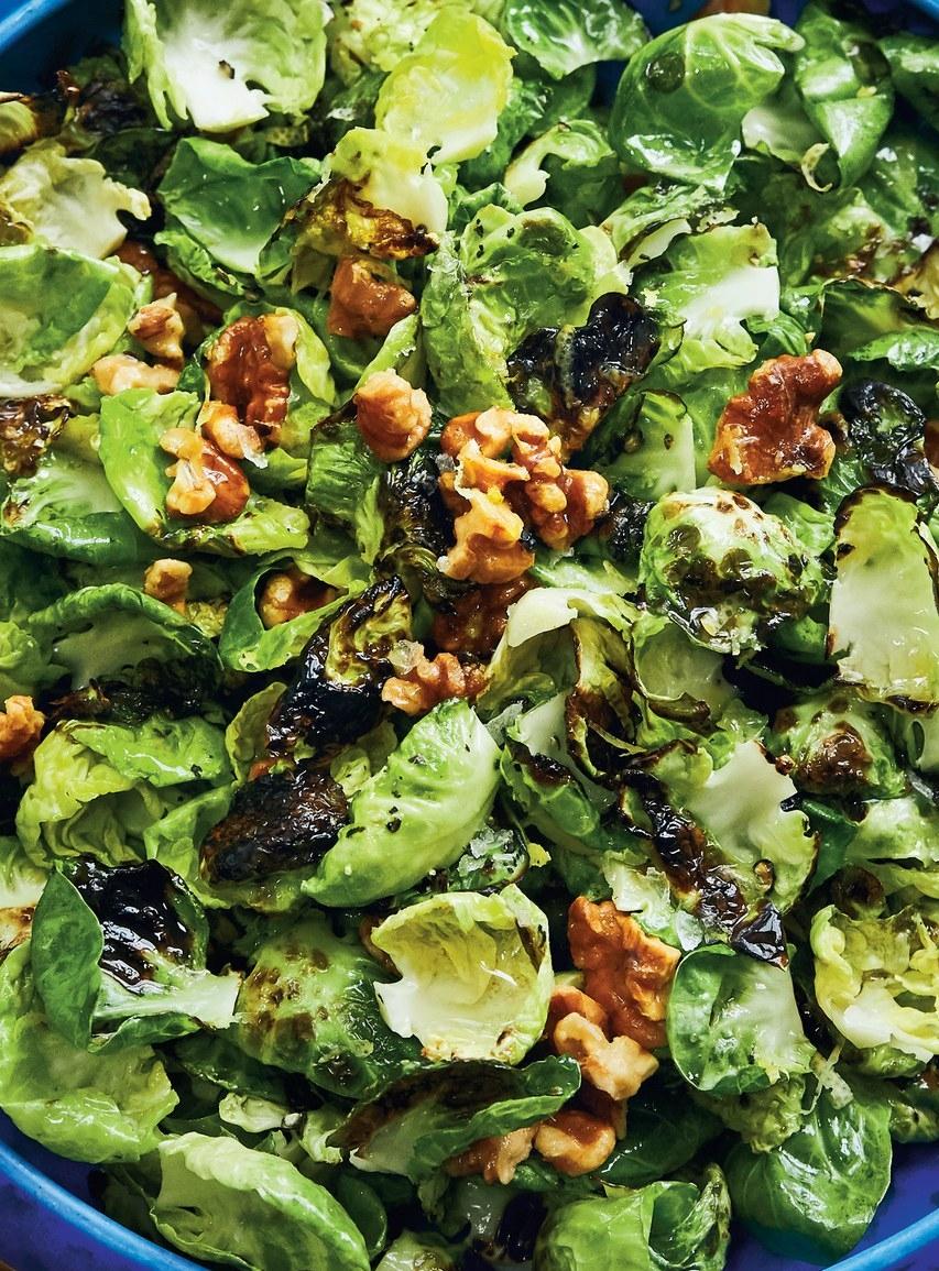Stir Fried Brussels - Healthy & Nutrient Dense