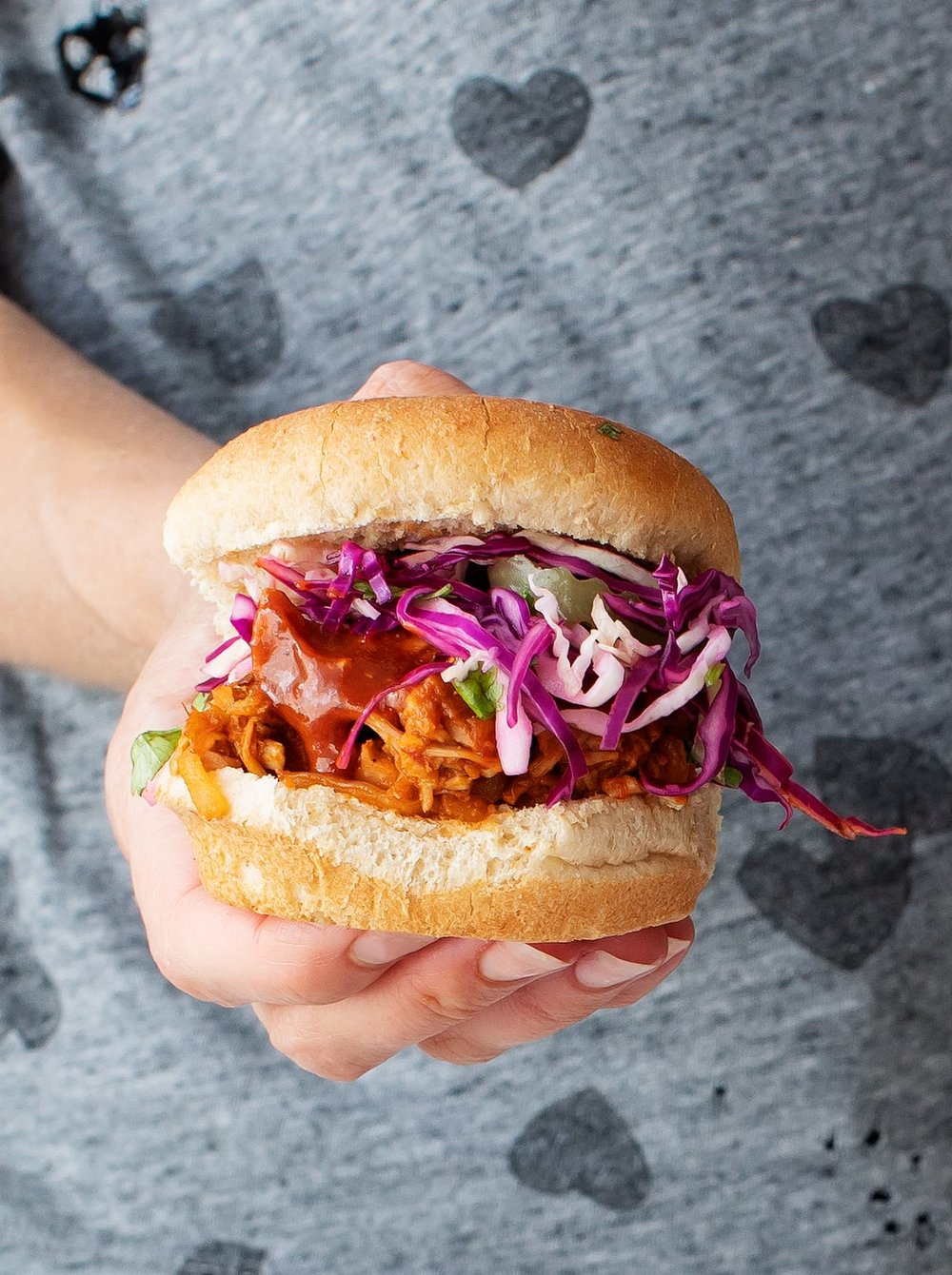 BBQ Jackfruit Sandwiches - With canned jackfruit more and more prevalent, this is an incredibly easy recipe to throw together on a weeknight.