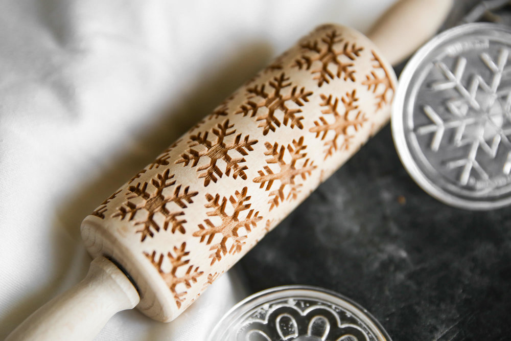 Decorative Cookie Rolling Pin
