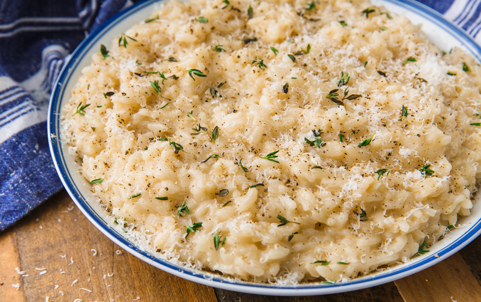 Easy Instant Pot Risotto - Risotto is even easier with the instant pot!