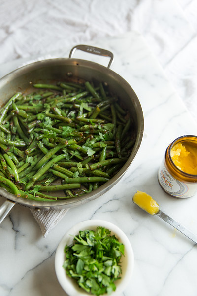 Herbed Green Beans - This is always a hit when I'm hosting and I can't count the number of people who have requested this recipe after trying it.