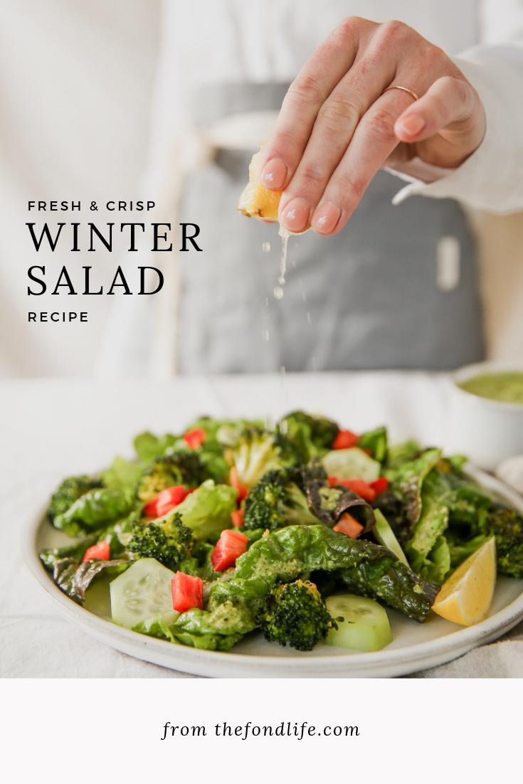 Crisp Winter Salad To Lift Your Spirits