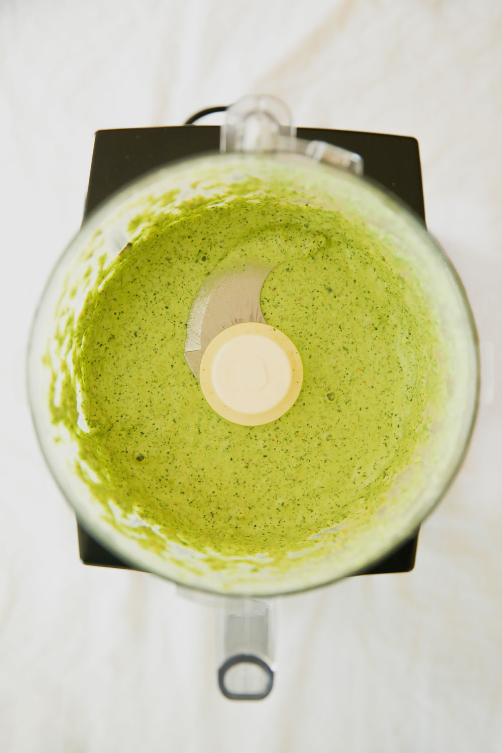 Blended Green Goddess Dressing