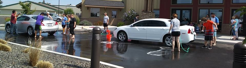 Fundraiser Car Wash to help send kids to camp.