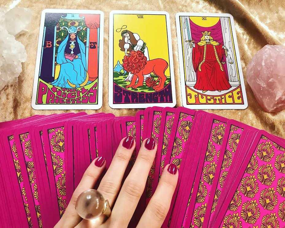 Aquarius Tarot by Dawn Aquarius ~ Photo by The Tarot Woman
