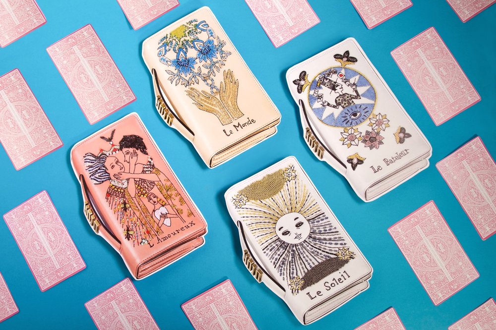 Tarot Clutches.  Photo Felicia Yap + Pham Quang Tung