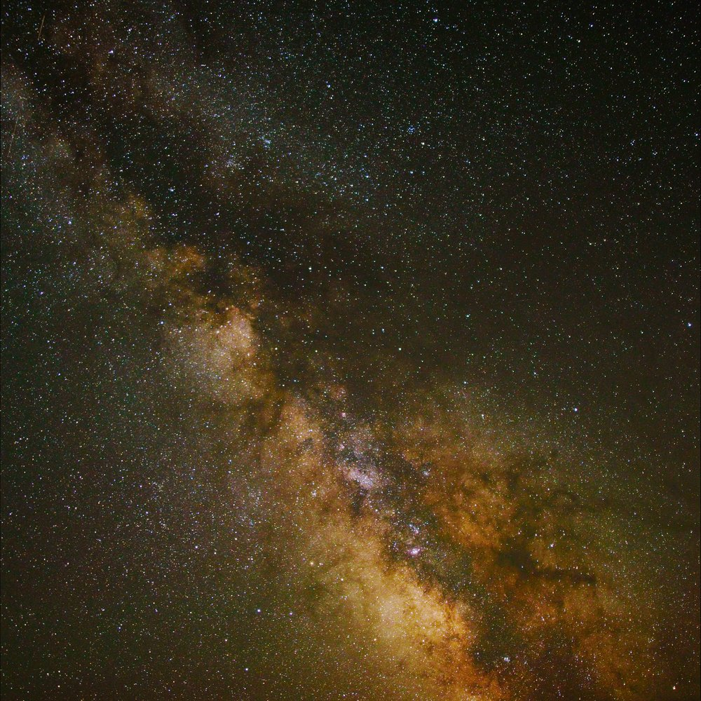 Looking Towards the Center of Our Milkyway Galaxy
