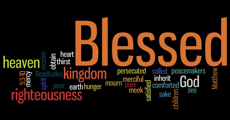 Living the Beatitudes — Fr. Bill's Personal Pages