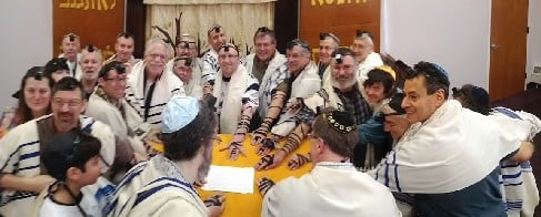 World Wide Wrap 2012 with Temple Israel Brotherhood