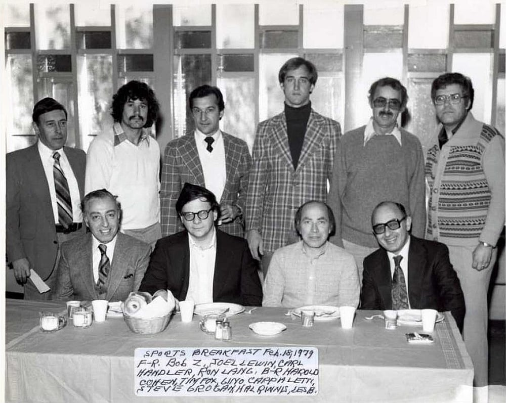 1979 Brotherhood Sports Breakfast