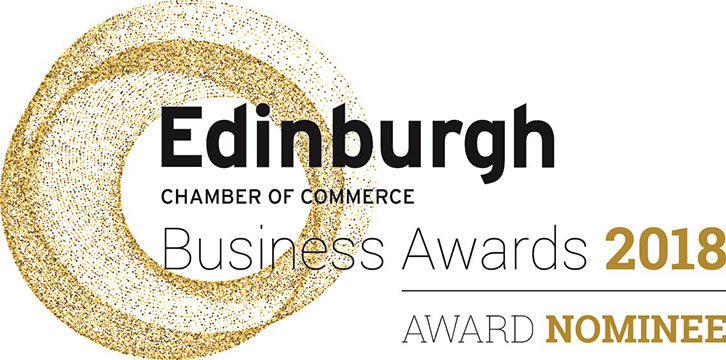 Edinburgh Chamber of Commerce Business Awards nominee 2018