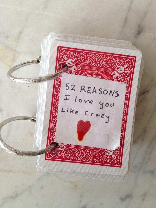 52 Reasons I Love You Like Crazy Joanne Palmisano