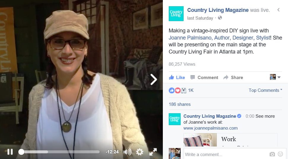 LINK: https://www.facebook.com/CountryLiving/videos/