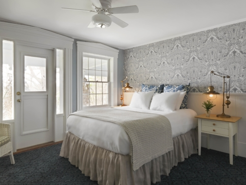 Renovated Lodge Rooms Basin Harbor. Photo by Susan Teare. Design by Joanne Palmisano