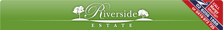 Thanks to Our Major Sponsor - Riverside Estate