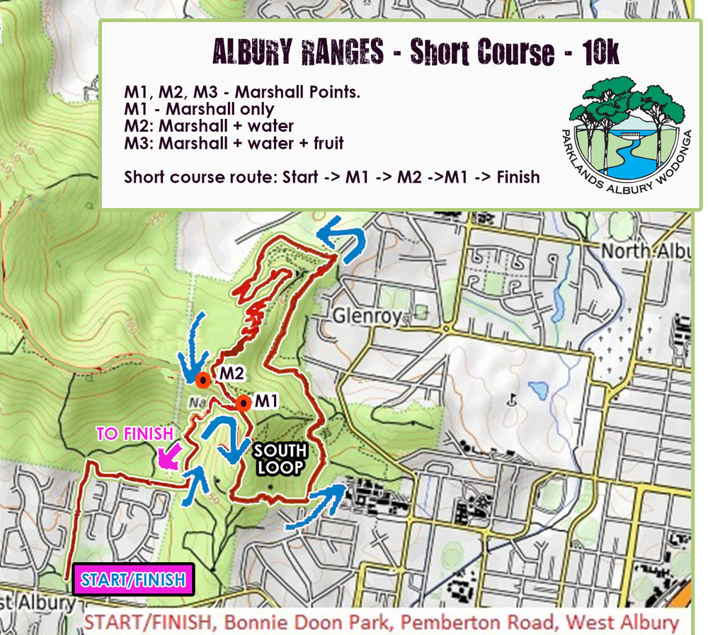 Albury Ranges Riverina Trails