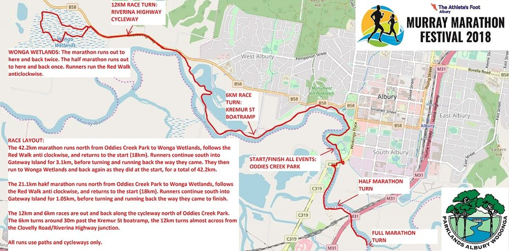 Marathon Riverina Trails