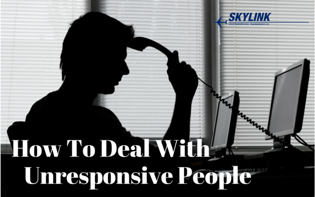 How To Deal With Unresponsive People