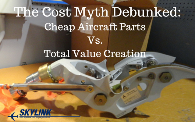 Cheap Aircraft Parts vs. Total Value Creation