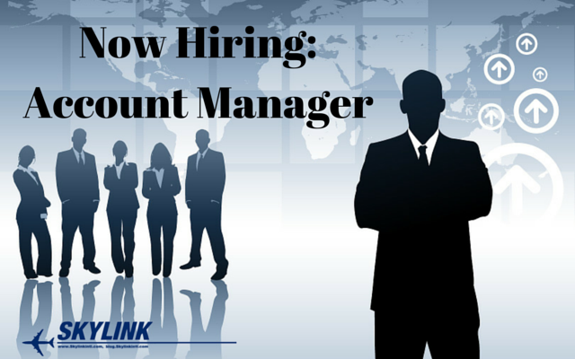 Now Hiring Account Manager