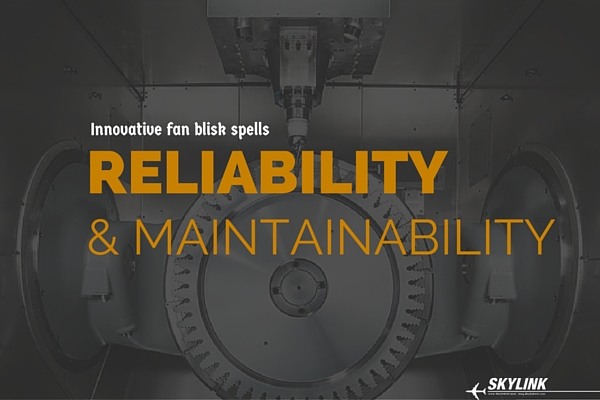 innovative fan blisk spells reliability & maintainability